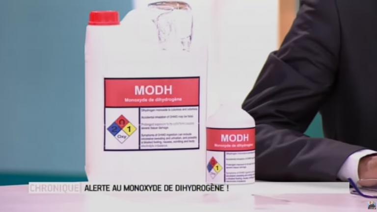 Le MODH : une substance chimique mortelle