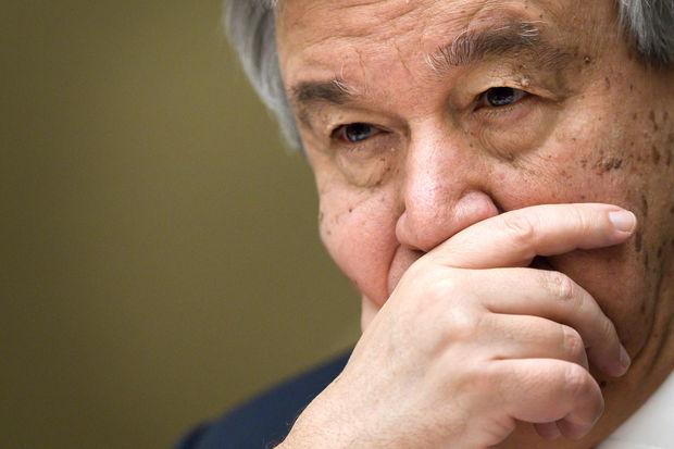 Syrie: Guterres appelle à éviter une situation «hors contrôle»