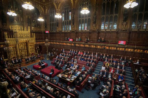Brexit: les Lords britanniques infligent un nouveau revers au gouvernement
