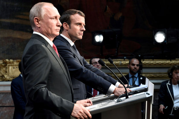 Poutine et Macron en faveur du maintien de l'accord sur le nucléaire iranien