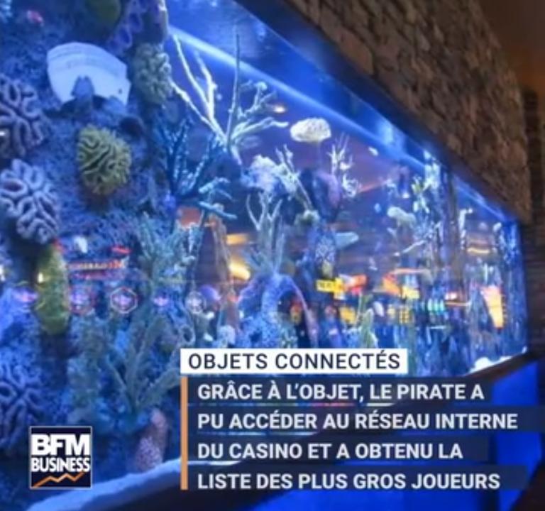 Un casino piraté… grâce au thermomètre connecté de l'aquarium