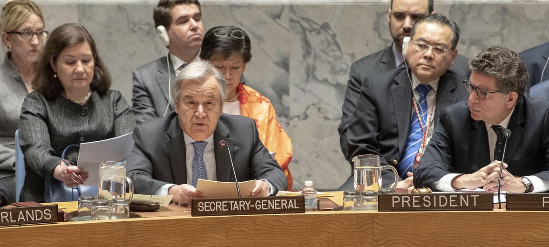 Syrie : le chef de l'ONU répète qu'il n'y a pas de solution militaire à la crise