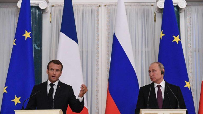 Macron-Poutine à Saint-Pétersbourg. Ce qu'il faut retenir de leur conférence de presse