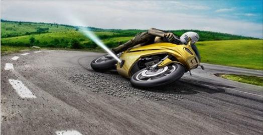 Les motos de demain pourraient avoir des rétrofusées