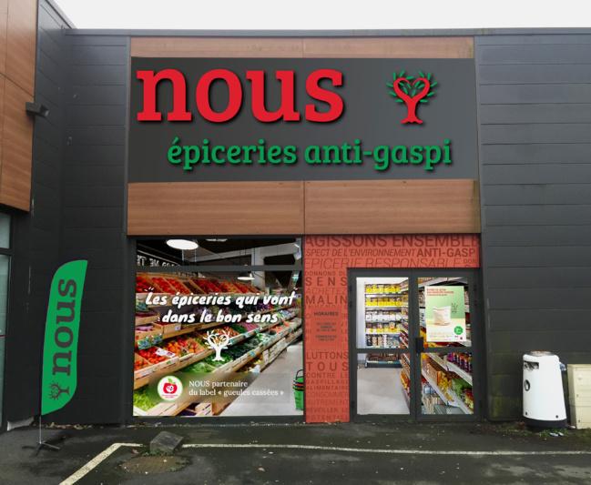 Le premier réseau d'épiceries anti-gaspillage débarque en France