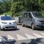 La voiture autonome testée sur route en Normandie