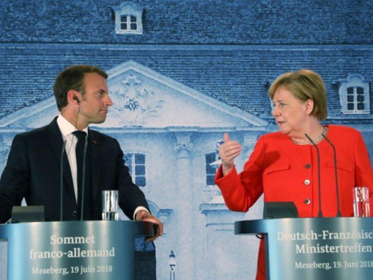 Angela Merkel accepte la création d'un budget commun pour la zone euro