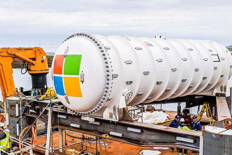 Projet Natick : Microsoft teste son data center sous-marin au large de l'Écosse
