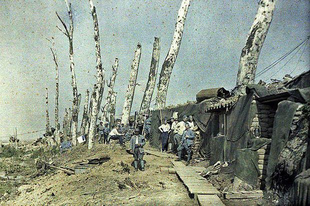 Des photos couleur proposent un aperçu rare de la Première Guerre mondiale