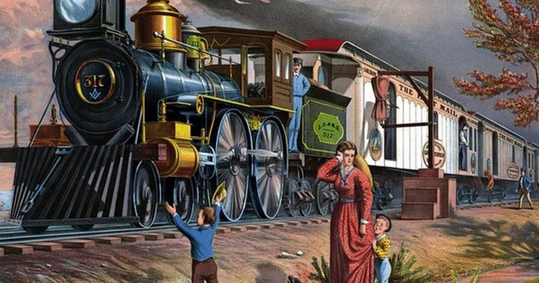 Au 19ème siècle on empêchait les femmes de prendre le train en prétendant que cela endommageait leur utérus