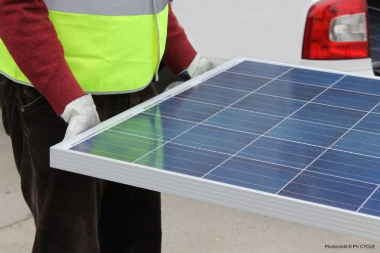 Les panneaux solaires peuvent enfin être recyclés