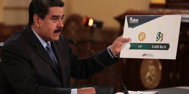 Maduro ordonne à ses banques d'adopter le petro, la cryptomonnaie vénézuélienne