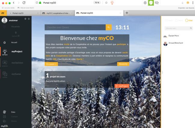 Avec MyCo, faites ce qu'il vous plait de vos données personnelles !