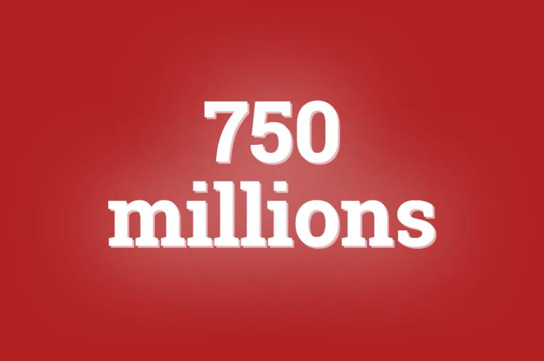 """Le chiffre du jour. Le nombre total d'individus vivant dans l'""""extrême pauvreté"""" est passé sous le seuil des 750 millions"""