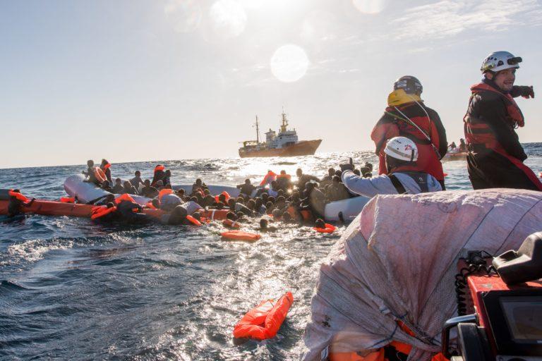 SOS Méditerranée : journal de bord de l'Aquarius
