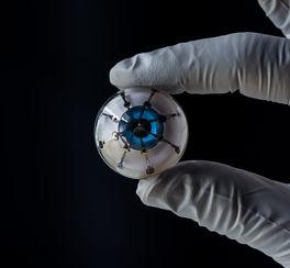 Un oeil bionique entièrement imprimé en 3D