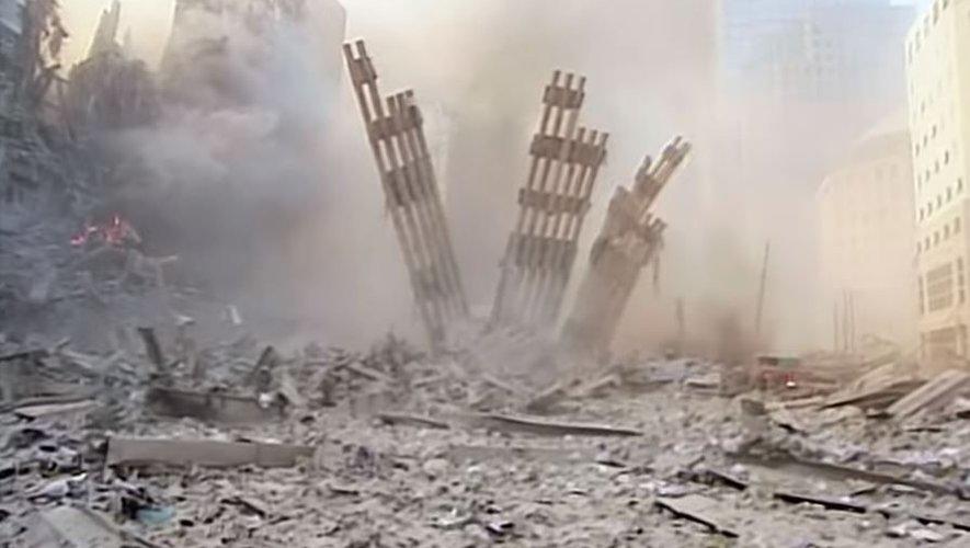 Une vidéo non publiée et restaurée du 11 septembre bouleverse les internautes