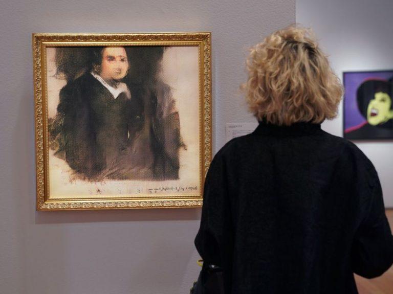 Cette toile produite par algorithme a été adjugée 432.500 dollars