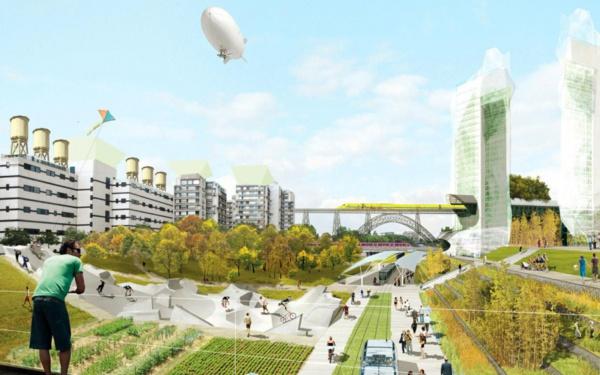 Paris : Et si le périph' devenait une coulée verte ?