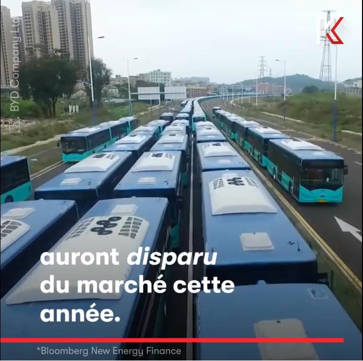 VIDEO : Les bus électriques menacent le pétrole