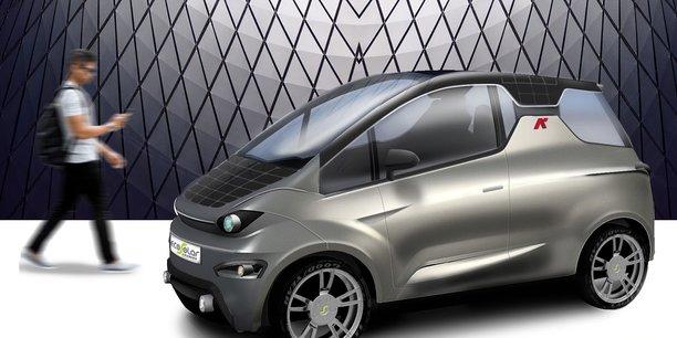 Hx², la future voiture solaire à usage urbain d'Eco Solar Breizh