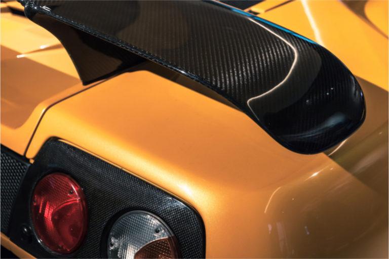 La fibre de carbone peut stocker de l'énergie dans la carrosserie d'un véhicule