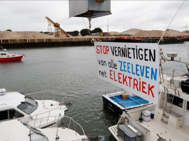 La pêche électrique interdite en Europe en 2021