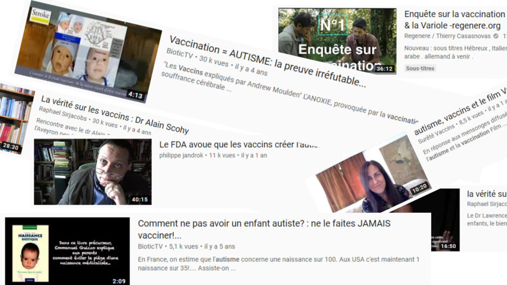 Surprise ! Les mesures de YouTube pour lutter contre les vidéos anti vaccins n'ont servi à rien