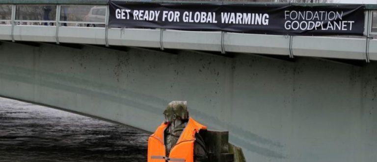 L'empreinte des documents confidentiels du réchauffement climatique