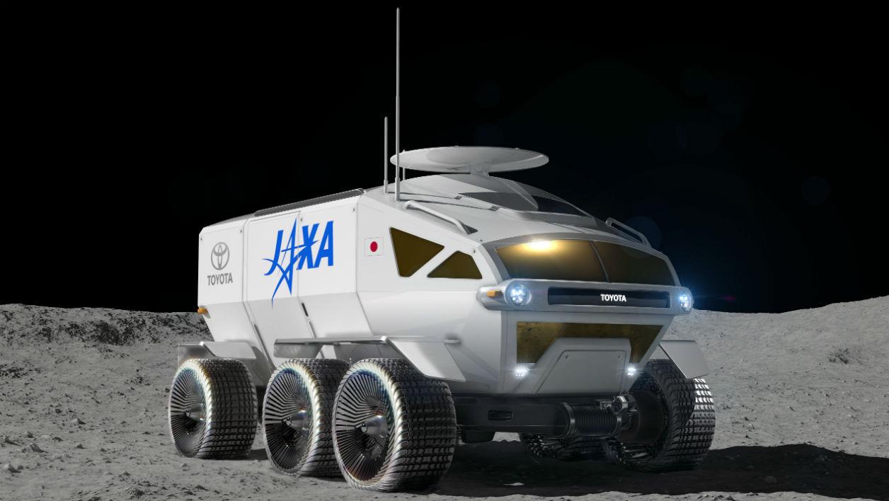 Sur la Lune, les Japonais pourront rouler en Toyota à hydrogène