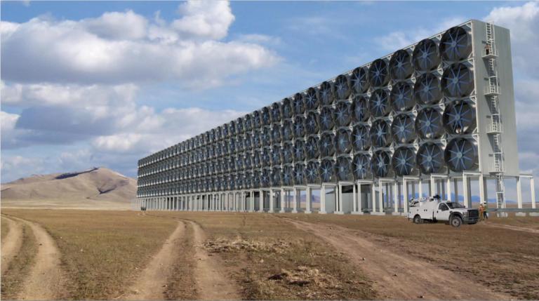 Capter le CO2 de l'atmosphère : une entreprise canadienne voit grand