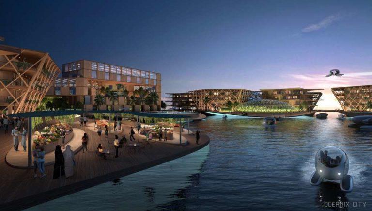 L'ONU veut construire une ville flottante autonome et écologique