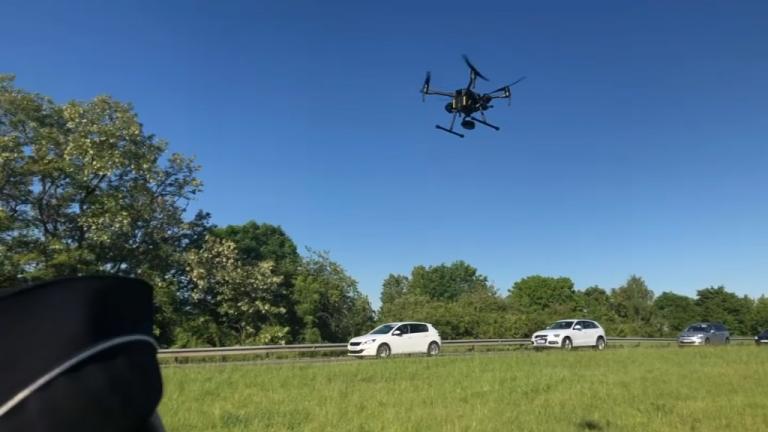 VIDEO : Des contrôles routiers menés par drone dans l'Essonne