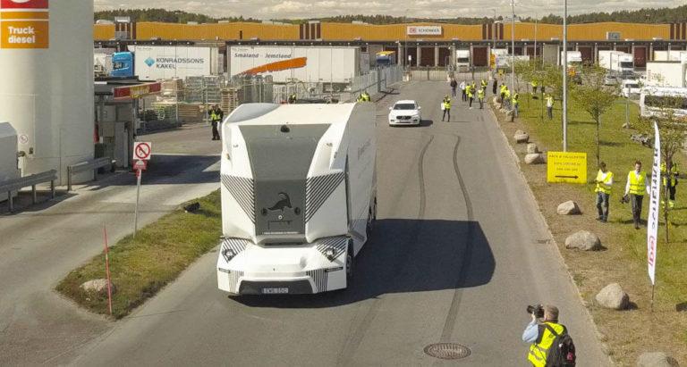 Le tout premier camion autonome et électrique est enfin autorisé à circuler sur la voie publique !