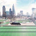 """Voici la première """"feuille bio-solaire"""" qui vise à purifier l'air pollué de Londres"""