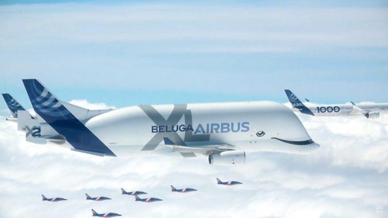 VIDEO : Toulouse : les incroyables images du vol de la famille Airbus au-dessus des nuages