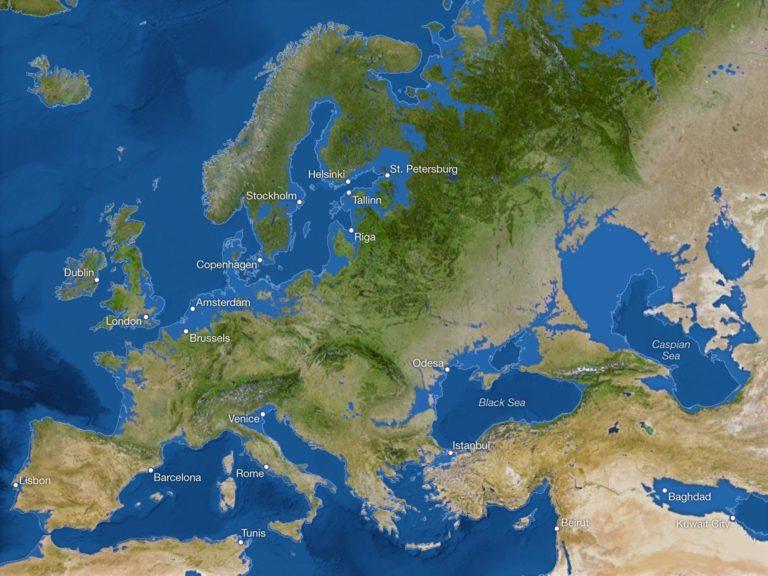 Voici à quoi ressemblerait le monde si la glace continentale venait à fondre