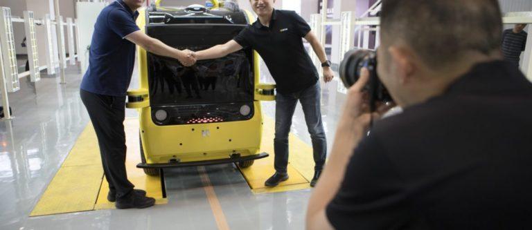 En Chine les robots de livraison de Neolix déjà en production industrielle