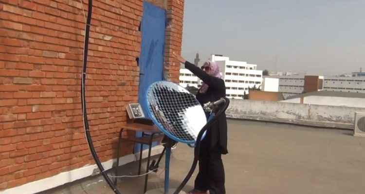 Solardo, la parabole qui transfère la lumière du soleil dans toute la maison