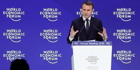 A Davos, Macron propose un «nouveau contrat mondial»