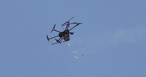 A Gaza, Israël utilise des drones pour lancer des grenades lacrymogènes