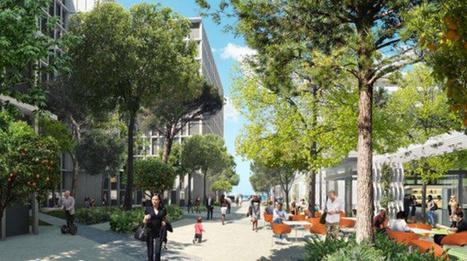 À Marseille, un éco-quartier puise son énergie dans la Méditerranée