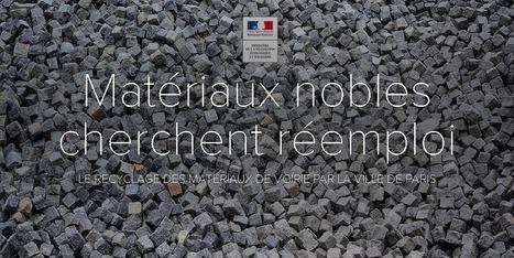À Paris, matériaux nobles cherchent réemploi