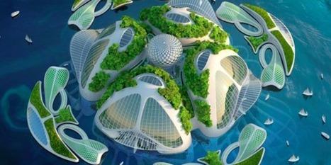 Aequorea : Le projet de cité marine imprimée en 3D à partir de résidus plastiques