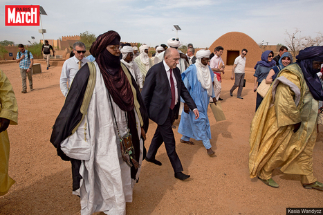 Afrique : Gérard Collomb sur les traces des migrants