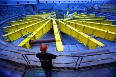 Alstom : les unités hydroélectriques de la centrale de Wiangjiaba opérationnelles