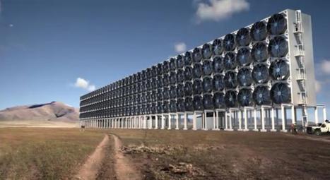 Au Canada, une entreprise capture le C02 pour en faire de l'énergie