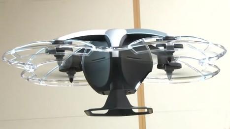 Au Japon, les drones surveillent le ciel et le sol