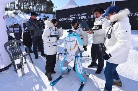 Aux JO d'hiver de Pyeongchang, des robots skieurs ont leur propre épreuve