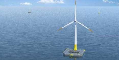 Avec une première turbine au Croisic, la filière française de l'éolien flottant se jette à l'eau